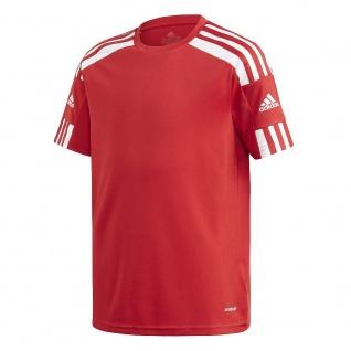 adidas Kinder T-Shirt Squadra 21 rot/weiß