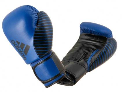 adidas Boxhandschuh Competition Leder royalblau schwarz 10 OZ