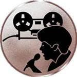 Emblem Discjockey, 50mm Durchmesser