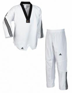 Taekwondo Dobok adidas Flex mit Streifen