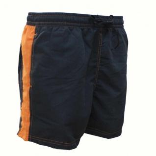 Badehose - Schwimmhose Adrian graphit/orange