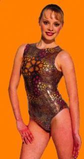 Gym Dress ohne Arm Farbe multicolor schwarz, Gr. L