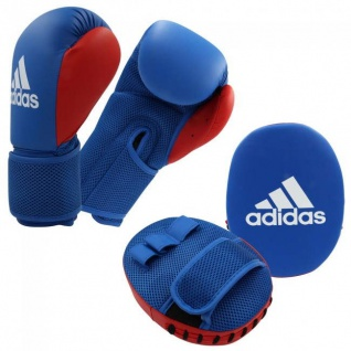 adidas Box Set Junior blau/rot