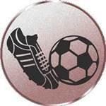 Emblem Fussball neutral, 50mm Durchmesser