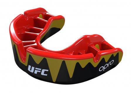OPRO Zahnschutz UFC Platinum Fangzähne schwarz/gold