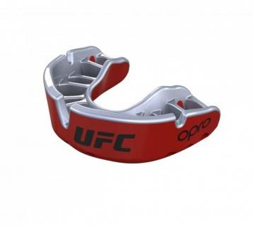 OPRO Zahnschutz UFC Gold - rot/silber, Senior