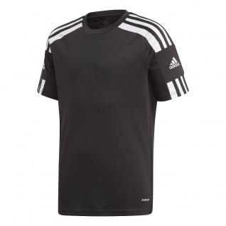 adidas Kinder T-Shirt Squadra 21 schwarz/weiß