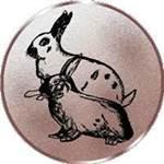 Emblem Kaninchen, 50mm Durchmesser