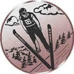 Emblem Ski-Springen, 50mm Durchmesser - Vorschau 1