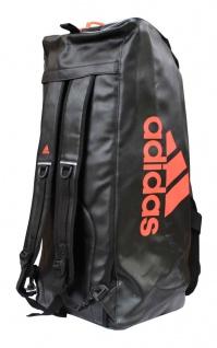 adidas Sporttasche - Sportrucksack schwarz/rot Kunstleder - Vorschau 3