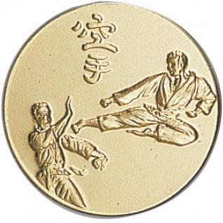 Emblem Karate in gold