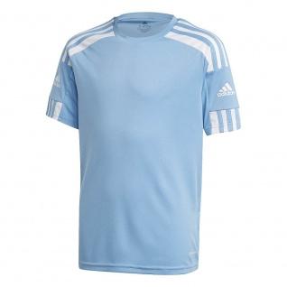 adidas Kinder T-Shirt Squadra 21 hellblau/weiß