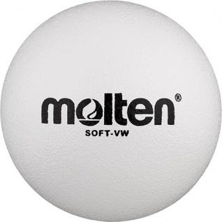 Softball weiss 21 cm