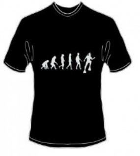 T-Shirt Evolution Tauchen