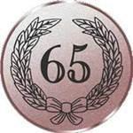 Emblem Jubiläum 65, 50mm Durchmesser