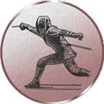 Emblem Fechten, 50mm Durchmesser