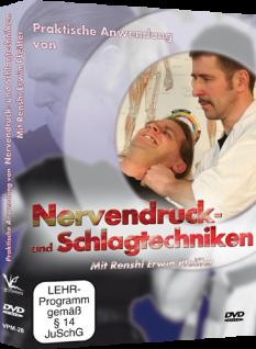 Praktische Anwendung von Nervendruck- und Schlagtechniken