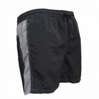 Badehose - Schwimmhose Hugo schwarz/grau