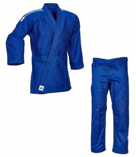 Judoanzug Adidas Training J500B blau mit weißen Schulterstreifen
