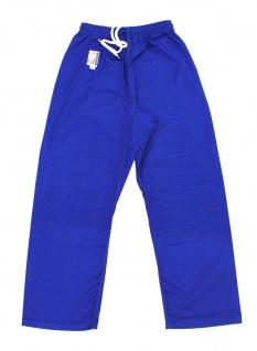 Judo Hose blau mit Knieverstärkung