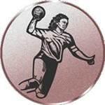 Emblem Handball/Damen, 50mm Durchmesser