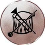 Emblem Spielmannszug, 50mm Durchmesser
