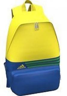 adidas Kinderrucksack gelb/blau