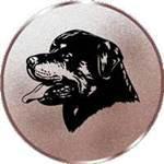Emblem Rottweiler, 50mm Durchmesser