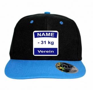 Snap Back Cap mit Rückennummer