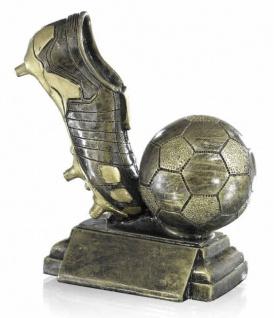 Pokal Fußball und Fußballschuh