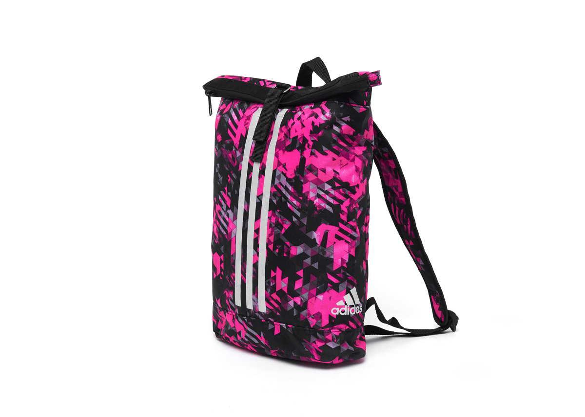 adidas Seesack Sportrucksack camouflage pink, Gr. S