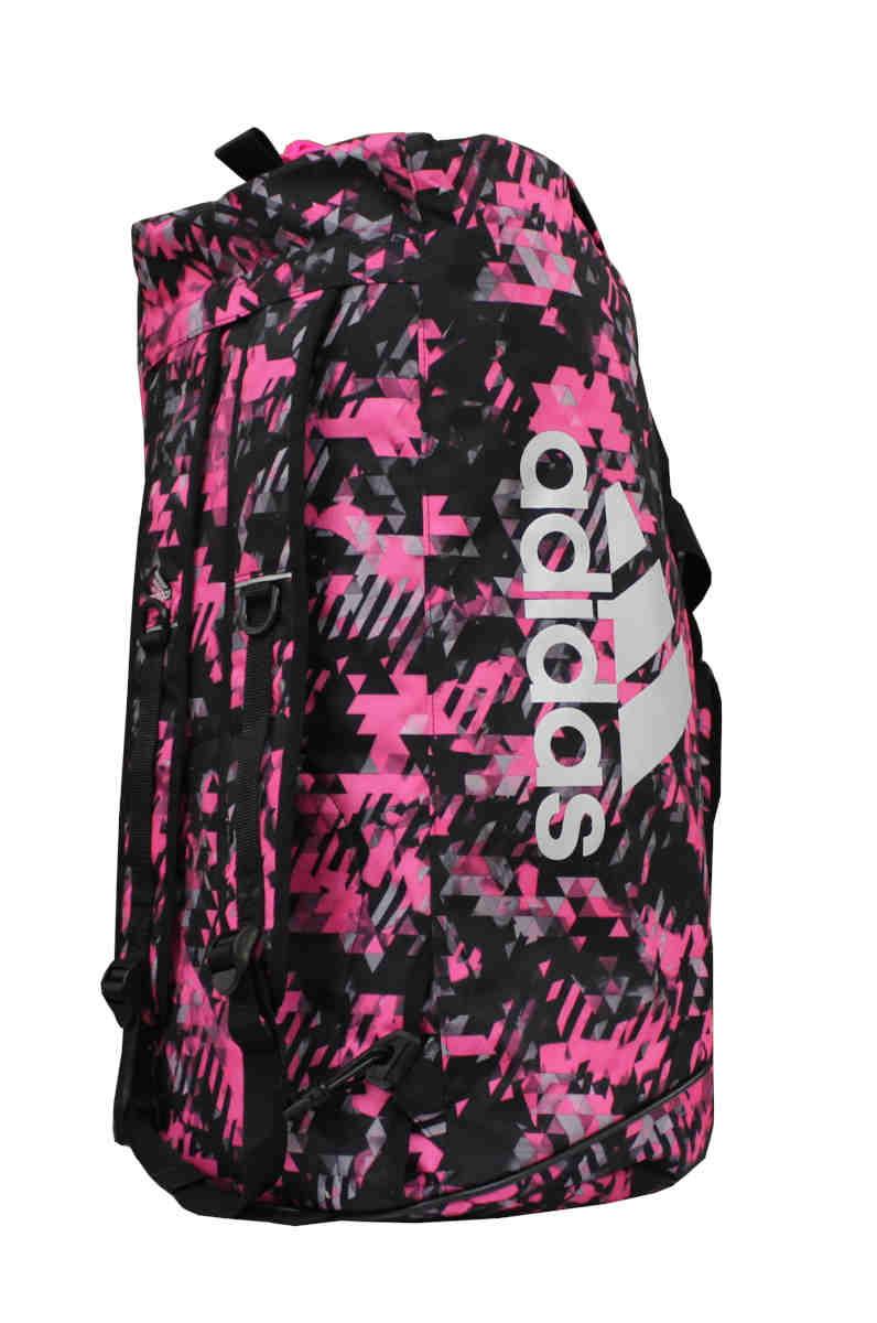 adidas Sporttasche Sportrucksack Camouflage pinksilber