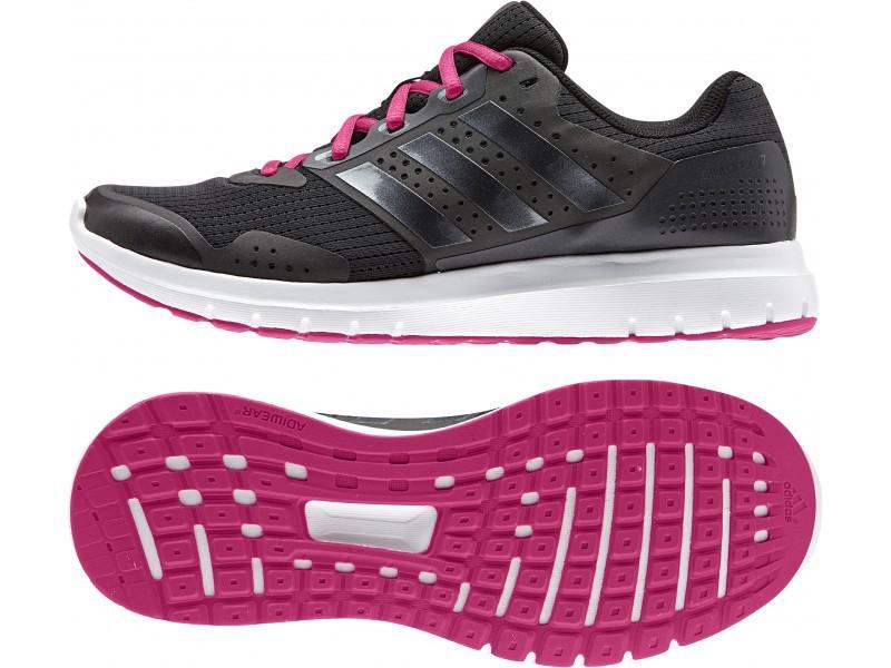 adidas Damen Schuhe Core Duramo 7 schwarz/pink