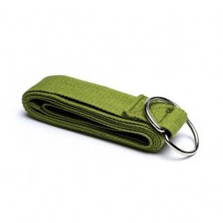 Yogagurt/Yogaband olivgrün 183x4 cm