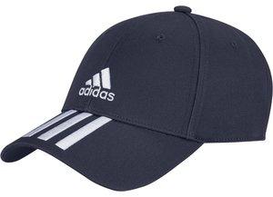 adidas Cap blau mit weißen Streifen