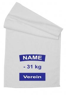 Microfaser Handtuch mit Judo Rückennummer, 50 x 100 cm