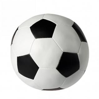 Soft Fußball schwarz/weiß in 5 Größen