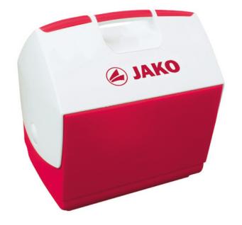 Jako Kühlbox rot/weiß 6 Liter