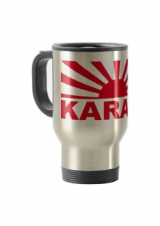 Thermo Becher To Go Motiv Sonne Karate