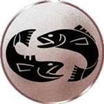 Emblem Fische, 50mm Durchmesser