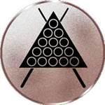 Emblem Billard, 50mm Durchmesser