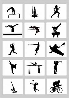 Gedächtnisspiel Sports