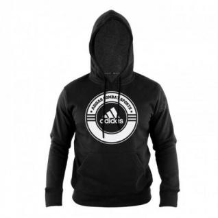 adidas Hoody Combat Sports schwarz/weiß