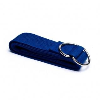 Yogagurt/Yogaband blau 183x4 cm
