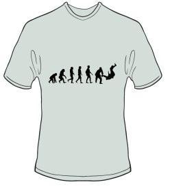 T-Shirt Evolution Judo Farbe ash