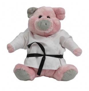 Schwein Trine mit Kampfoberteil