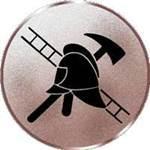 Emblem Feuerwehr, 50mm Durchmesser - Vorschau 1