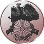 Emblem Schießen, 50mm Durchmesser - Vorschau 1