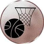 Emblem Basketball, 50mm Durchmesser - Vorschau 1