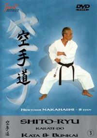 Shito-Ryu Karate-Do Kata & Bunkai Vol.3